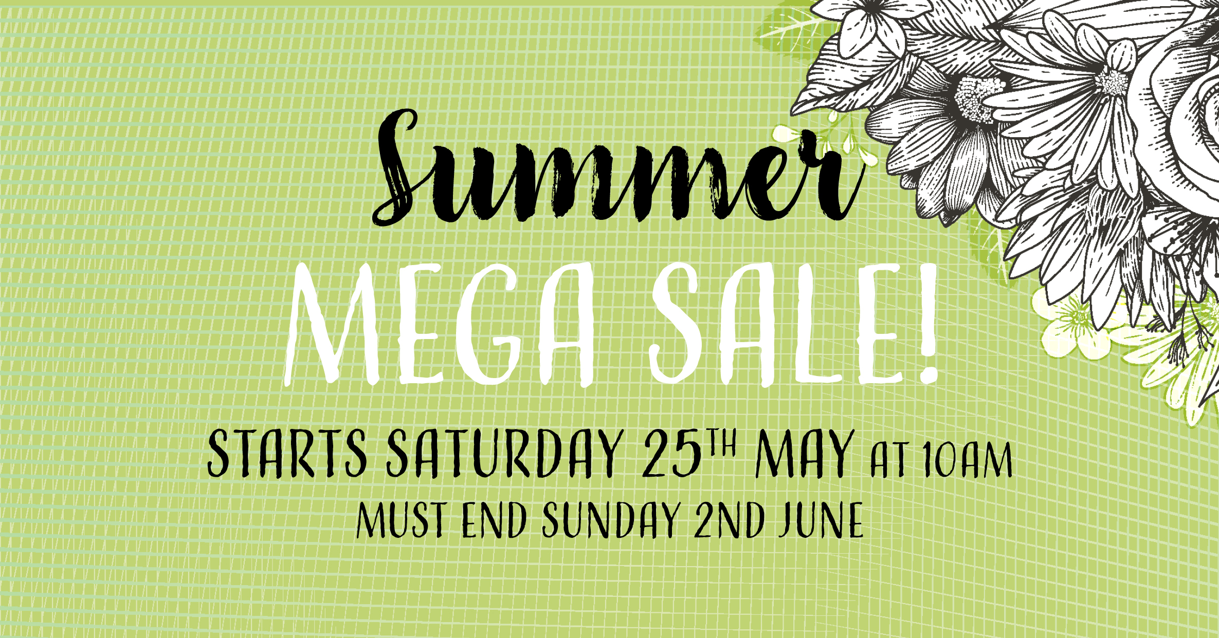 Summer Mega Sale